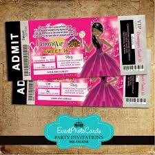 teen party central free shipping candyland ticket aa1 invitation