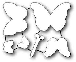 poppysts memory box poppysts ornamental butterflies die