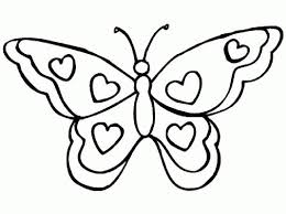 coloring picture of a butterfly 9131