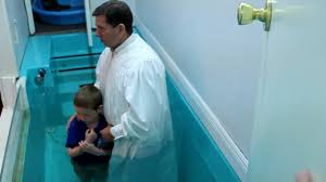 christian getting baptized at waterstone church youtube