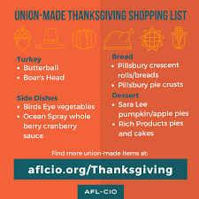 top 10 thanksgiving dinner shopping list posts on