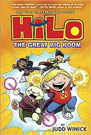 hilo book 3 the great big boom judd winick 9780385386203