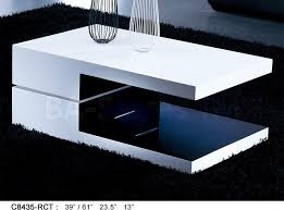 glossy white coffee table stylish black and white coffee table high gloss white and black