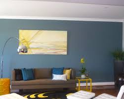 Yellow Accent Wall Wall Color Living Room Accent Wall Design Pictures Remodel