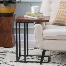 c tables on hayneedle c shaped end table
