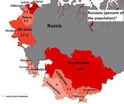 Ussr Map Post Soviet States Mapioso