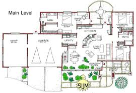 green home designs floor plans ranch warm efficient passive solar home plan