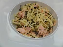 cuisiner salicorne tagliatelles ou fettucines au saumon et salicornes teatime gourmand