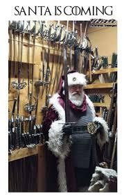 Christmas Is Coming Meme - santa is coming funny game of thrones christmas meme pmslweb