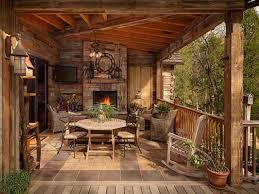 Wrap Around Deck by Rustic Porches Log Cabin With Wrap Around Porch Rustic Cabin