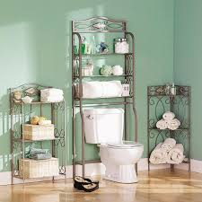 amazon com southern enterprises reflections 3 fixed shelving bath