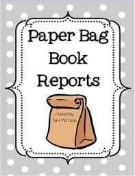 paper bag book report template 21 best book report images on book reports book