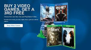 buy two xbox one ps4 games get third free at best buy right now