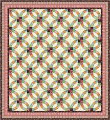 double wedding ring quilt by hoopsisters pattern available at
