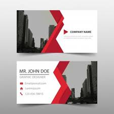 Free Graphics For Business Cards Business Card With Abstract Background Vector Vector Free Download