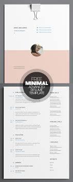 free minimal resume psd template free 17 free clean modern cv resume templates psd freebies
