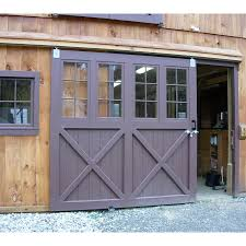 Garage Gate Design Sliding Dutch Barn Doors Handsome For A Workshop Home Design