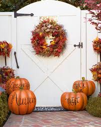 Fall Decorations For Outside The Home Fall Outdoor Decorative Pumpkins Balsam Hill