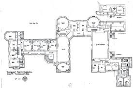 lynnewood hall 2nd floor gilded era mansion floor plans biltmore third floor plan with lights labeled gilded era mansion