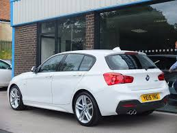 white bmw 1 series sport bmw 1 series 2 0 125d m sport sports hatch sport auto 5dr start