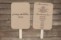 wedding program fan kits wedding ideas fan weddbook