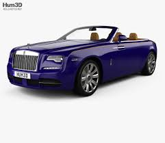 roll royce phantom 2017 rolls royce dawn with hq interior 2017 3d model hum3d