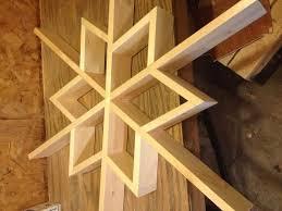 let it snow my diy wooden snowflake shelf hometalk