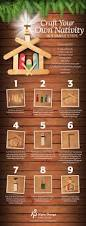 craft your own nativity holidays christmas pinterest craft