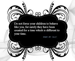 sayings of our prophet pbuhahf and imams as on children
