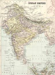 Indian Map Historical Maps Of India