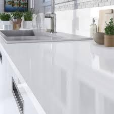 poubelle cuisine blanche plan de travail gris ikea galerie avec cuisine blanche plan de avec