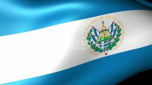 Flag El Salvador El Salvador Flag Waving Royalty Free Video And Stock Footage