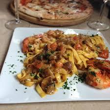 gulli cuisine tagliatelle com gambas e cogumelos picture of bistrot gulli
