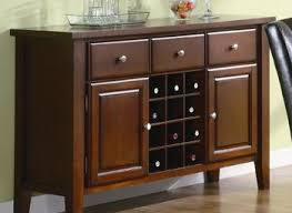 Dining Room Servers Sideboards Signature Design By Ashley U0027ledelle U0027 Dark Cherry Dining Room