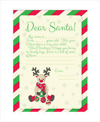 free printable writing paper to santa santa letter template 9 free word pdf psd documents download