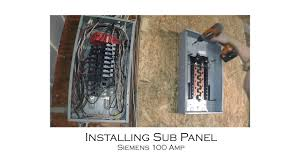 How To Install Center Jump How To Install An Electric Sub Panel And Tie In To Adjacent Main