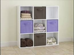Closetmaid Cubeicals Instructions Best Seller Closetmaid 421 Cubeicals 9 Cube Organizer White Youtube