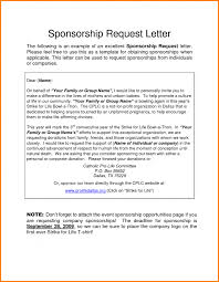 how to write a letter requesting sponsorship for college u2013 howsto co