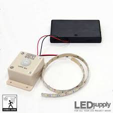 motion activated led light strip led motion sensor strip light battery powered