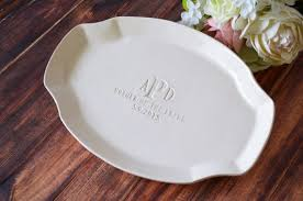 personalized wedding platter of the gift or of groom wedding gift