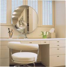Bathroom Vanity With Makeup Area by Magnifying Mirror Ideas Powder Room Contemporary With Makeup Area