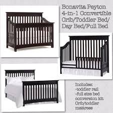 Crib To Toddler Bed Bonavita Peyton 4 In 1 Crib Toddler Bed Size Bed Baby