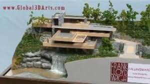 Falling Water Floor Plan Pdf Frank Lloyd Wright Falling Water Scale Model Youtube