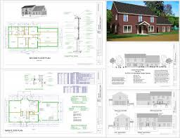 floor plan with perspective house autocad 2d drawing samples 2d autocad drawings floor plans houses