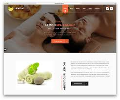 Massage Resume 20 Beautiful Spa U0026 Beauty Salon Wordpress Themes 2017 Colorlib
