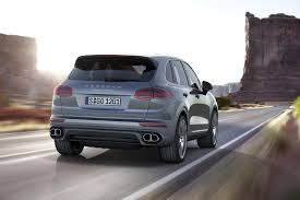 twin turbo porsche porsche cayenne revised with new twin turbo v6 and hybrid