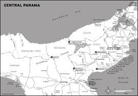Central America And The Caribbean Map printable travel maps of panama moon travel guides