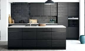 cuisine frigo frigo noir mat great cuisine et bois rutistica home solutions
