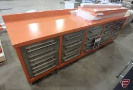 Bench Metal Work 20 Drawer With 40 U0026quot Hangin Auctions Online Proxibid