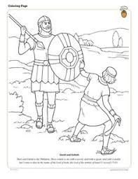 david and jonathan were friends coloring page children u0027s bible